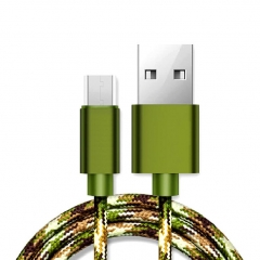 Camouflage Micro USB Cable